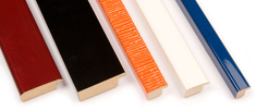 LPM picture-frames: Lacquered