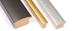 LPM picture-frames: Metallized