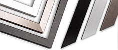 LPM picture-frames: Metal film